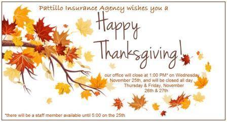 2015 smaller Thanksgiving hours announcement